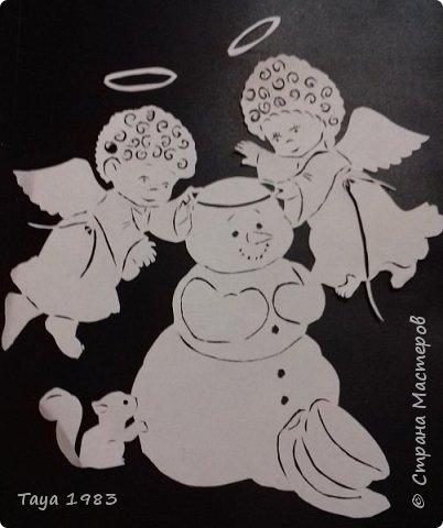 Милые рожденственские ангелочки и символ года собачки.(Авторские) фото 1