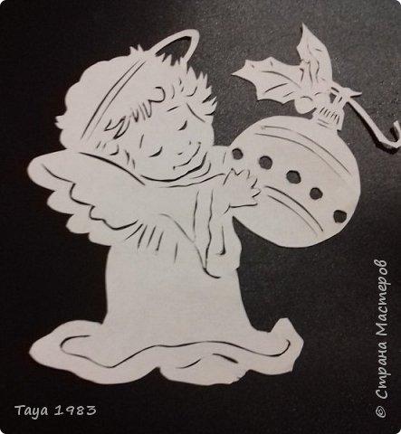 Милые рожденственские ангелочки и символ года собачки.(Авторские) фото 2