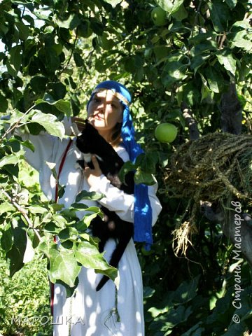 """на фестиваль """"Один день жизни средневекового города Укек"""" , на историческую площадку, пускали только при наличии """"правильного костюма"""" - пришлось пошиться! в этом костюме я и была на средневековом базаре с травяными веревками, травами-чаями, костяными иголками, моя роль - славянка 13 века   фото 6"""
