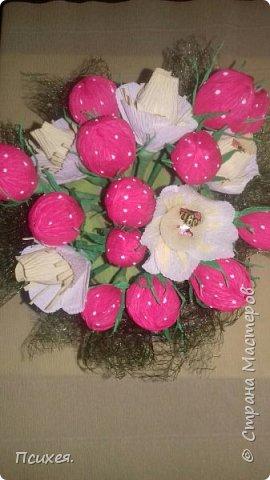 Доброй ночи,страна!!! Все спят,а у меня,как говорят в семье,ночная смена)) Продолжаю учиться свит-дизайну.Цветочки пока самые простенькие.Мечтаю освоить розы и другие прекрасные цветы. фото 5