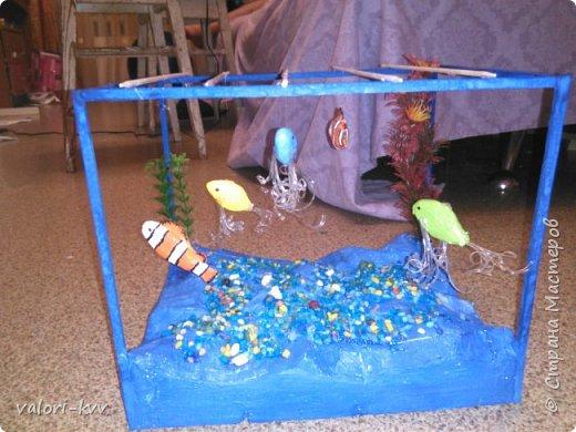 Аквариум в детский садик для выставки просвещённой дню матери фото 1