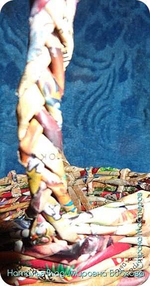 Мастер-класс по изготовлению корзиночки из бумажных трубочек. фото 18