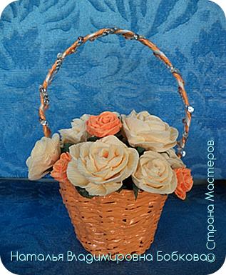 Мастер-класс по изготовлению корзиночки из бумажных трубочек. фото 20