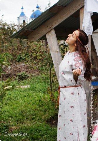 "Платье-рубаха ""Славяночка"" фото 2"