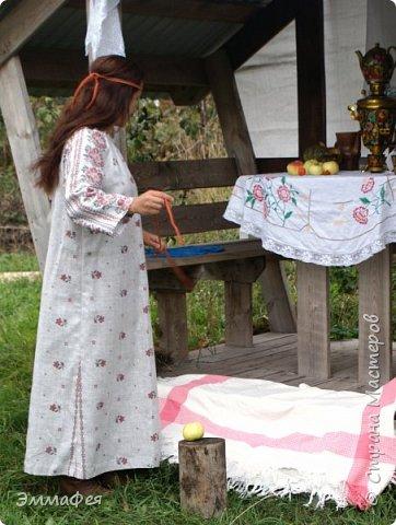 "Платье-рубаха ""Славяночка"" фото 1"