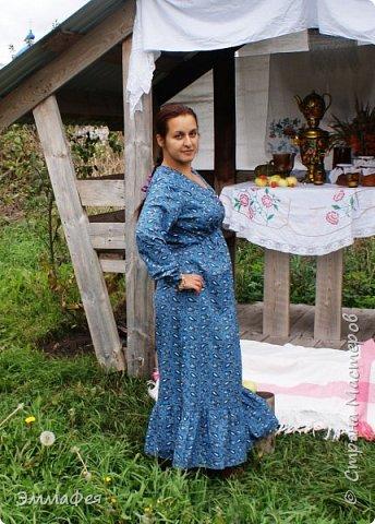 """Платье """"Крестьянка""""  фото 2"""