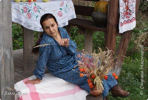 """Платье """"Крестьянка""""  фото 3"""