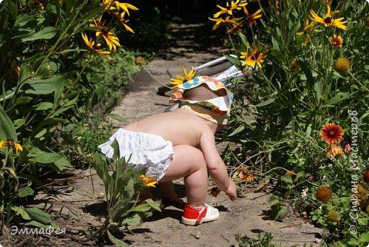 Трусики-шортики на подгузник для малышки фото 4