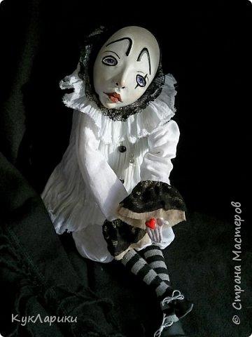 Добрый вечер. Я давно не делала кукол. И это тоже должна была быть не кукла. фото 1