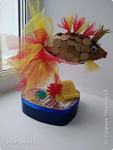 Рыбка золотая приносящая счастье своим владельцам. фото 1