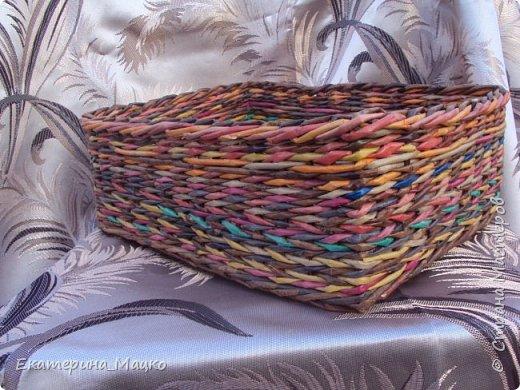 плетение из бумажной лозы фото 3