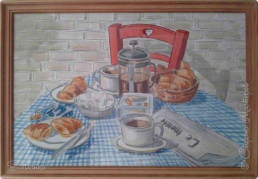 Нашла несколько работ своих, которые рисовала уже давным-давно; сейчас вижу миллион ошибок, а когда то гордилась ими :) Всё - бумага, гуашь, темпера. Масло ещё не было освоено :) Забавные, конечно, они ))) фото 9