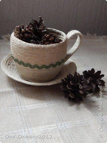 Здравствуйте,жители Страны Мастеров!Увидела я как-то чашки,сделанные Valeri http://stranamasterov.ru/user/170571 .Очень мне захотелось сделать чайную пару. фото 3