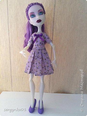 Платья для кукол Монстр Хай фото 5