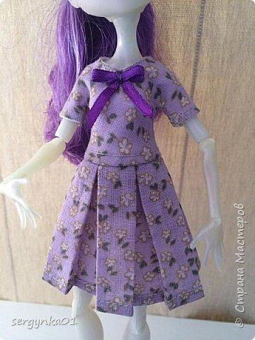 Платья для кукол Монстр Хай фото 6