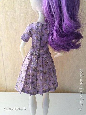 Платья для кукол Монстр Хай фото 7