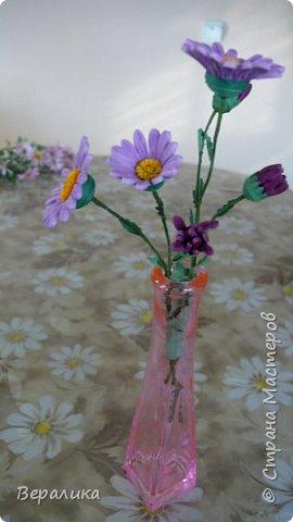 Хризантема немахровая. Давно заглядывалась на свою нежную хризантемку в саду. И вот , наконец-то, решилась!А что получилось - судить вам, дорогие мастерицы! фото 8