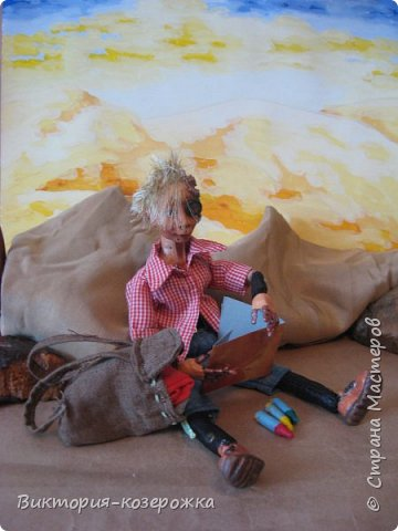 Всем самый самый добрый! Была у меня идея сделать куклу такую, с помощью которой можно было бы найти ответы на выматывающие вопросы и подумать, а может даже и пофилософствовать.И так появился Патрик. и как и подобает каждой кукле ручной работы у него есть своя история. И этой историей я делюсь с вами. Милости прошу в блог.    фото 9