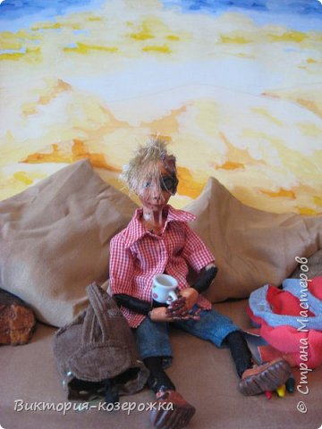 Всем самый самый добрый! Была у меня идея сделать куклу такую, с помощью которой можно было бы найти ответы на выматывающие вопросы и подумать, а может даже и пофилософствовать.И так появился Патрик. и как и подобает каждой кукле ручной работы у него есть своя история. И этой историей я делюсь с вами. Милости прошу в блог.    фото 12