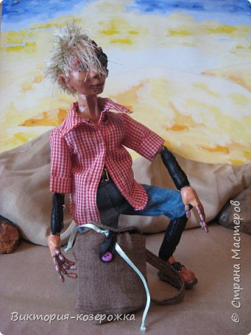 Всем самый самый добрый! Была у меня идея сделать куклу такую, с помощью которой можно было бы найти ответы на выматывающие вопросы и подумать, а может даже и пофилософствовать.И так появился Патрик. и как и подобает каждой кукле ручной работы у него есть своя история. И этой историей я делюсь с вами. Милости прошу в блог.    фото 15