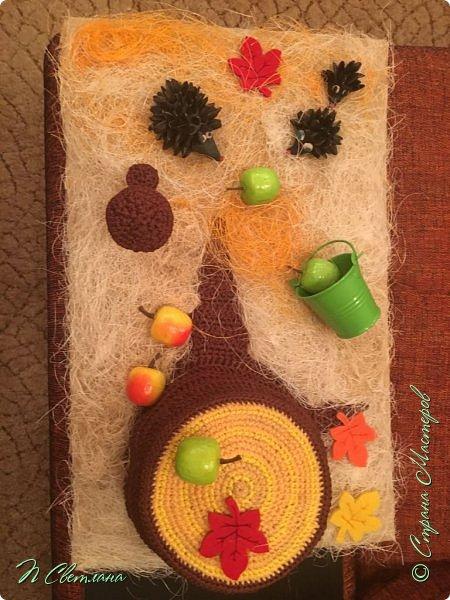 Здравствуйте, дорогие жители и гости СМ! Представляем Вашему вниманию осеннюю полянку, которую мы с дочкой сделали в детский сад фото 3