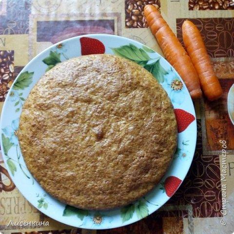 Очень вкусный ароматный пирог. Его можно делать как с тыквой так и с морковью, результат одинаковый. Отличить не возможно.  Пирог очень нравится детям, просто морковь или тыкву их ведь сложно заставить съесть. А в пироге они сами уплетают за обе щеки))) фото 18