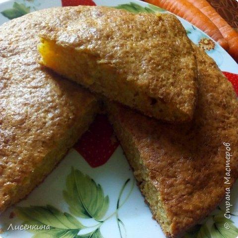 Очень вкусный ароматный пирог. Его можно делать как с тыквой так и с морковью, результат одинаковый. Отличить не возможно.  Пирог очень нравится детям, просто морковь или тыкву их ведь сложно заставить съесть. А в пироге они сами уплетают за обе щеки))) фото 19