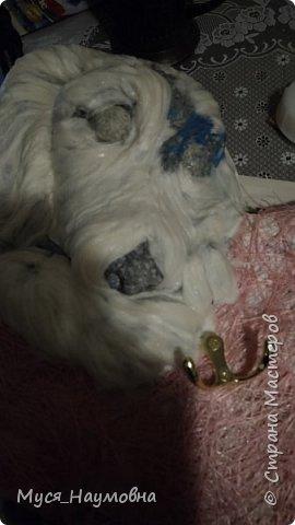 Среди моих знакомых есть любители собак,а посему захотелось порадовать их новогодним сувениром,заодно отдать дань моде... фото 5