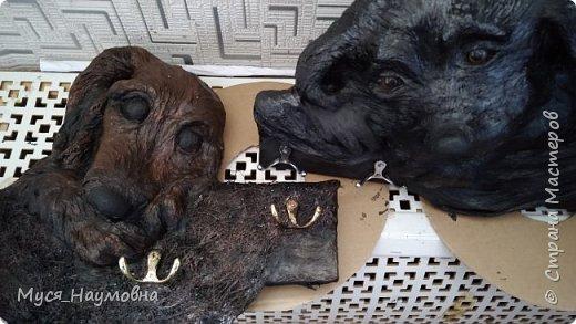 Среди моих знакомых есть любители собак,а посему захотелось порадовать их новогодним сувениром,заодно отдать дань моде... фото 6