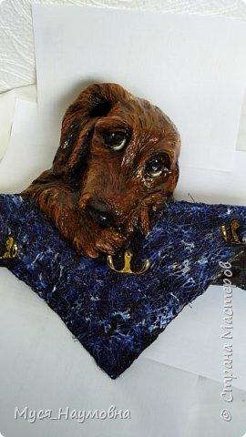 Среди моих знакомых есть любители собак,а посему захотелось порадовать их новогодним сувениром,заодно отдать дань моде... фото 8