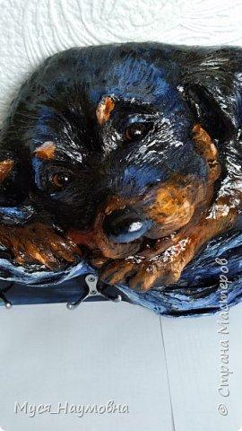 Среди моих знакомых есть любители собак,а посему захотелось порадовать их новогодним сувениром,заодно отдать дань моде... фото 9