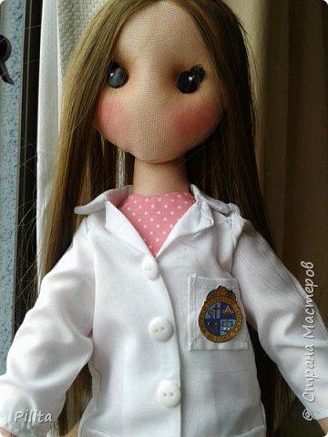 привет друзья! Я приношу вам новую куклу! для студента-медика ... это подарок от ее бойфренда. Он поставляется с учебником. Надеюсь, вам понравится! фото 2