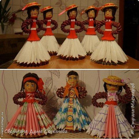 Куклы-салфетницы