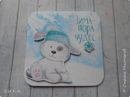 Новогодние мини открытки. (очень много фотографий) фото 2
