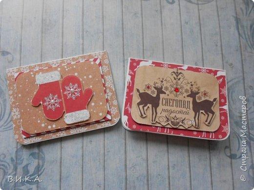 Новогодние мини открытки. (очень много фотографий) фото 6