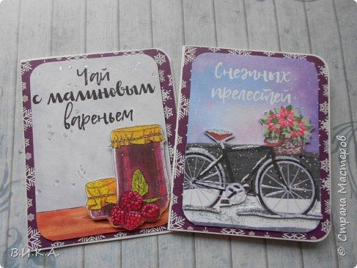 Новогодние мини открытки. (очень много фотографий) фото 11
