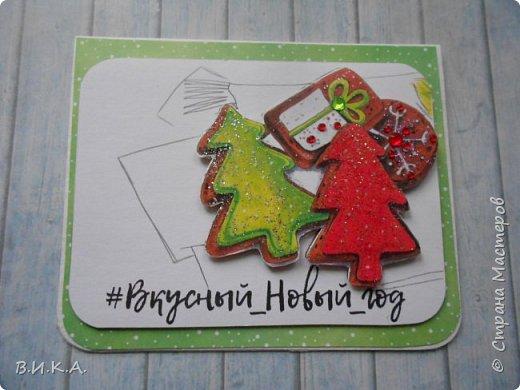 Новогодние мини открытки. (очень много фотографий) фото 13