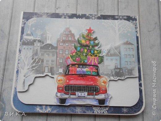 Новогодние мини открытки. (очень много фотографий) фото 14