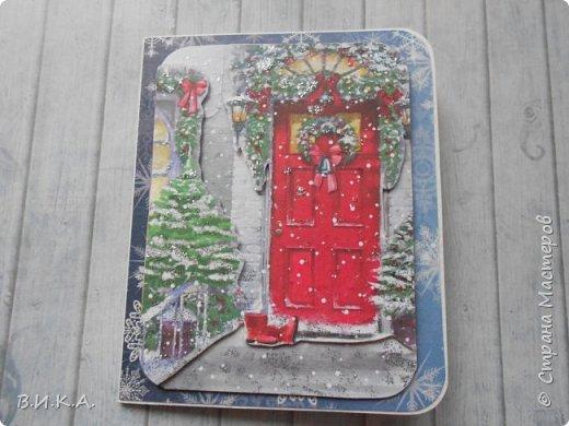 Новогодние мини открытки. (очень много фотографий) фото 15