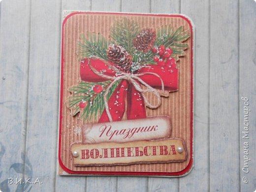 Новогодние мини открытки. (очень много фотографий) фото 17