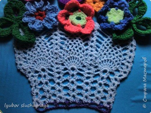 Подарок для мамы - корзина с цветами фото 2