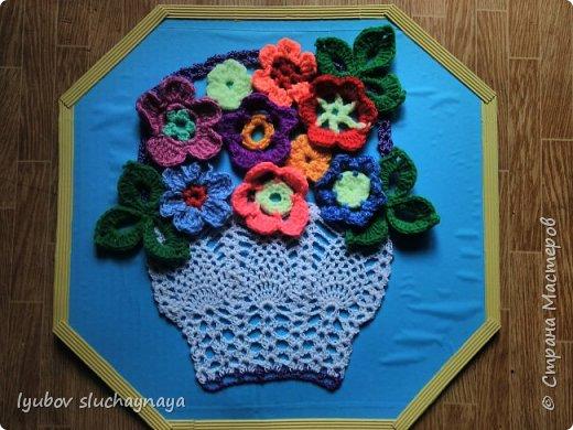 Подарок для мамы - корзина с цветами фото 1