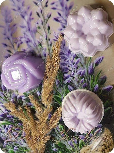 Лавандовое мыло. фото 1