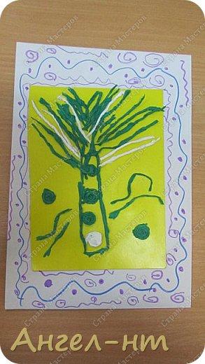 С ребятами на уроке крутили салфеточные жгутики, а затем превращали их в творческую работу - денежное дерево. Получились интересные работы.  фото 7