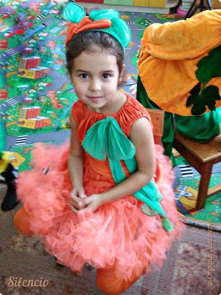 На праздник Осени доча была Морковкой.  фото 2