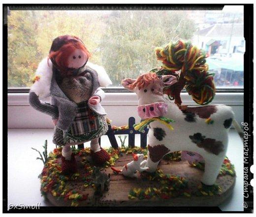 Беседа с коровой. фото 1