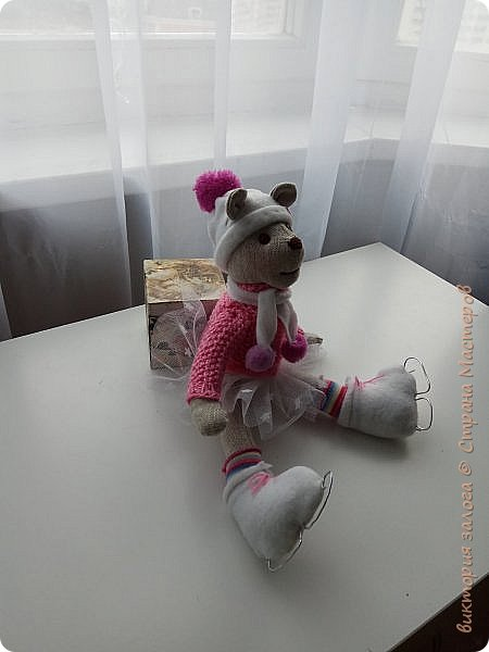 Мишка-фигуристка фото 3
