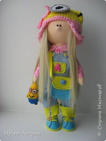 """До посещения мастер-класса по кукле-малышке """"Миньон"""", понятия не имела кто-такие миньоны. Посмотрела мультфильм """"Гядкий -я"""". Очень понравился, теперь эксплуатирую этот образ. фото 2"""