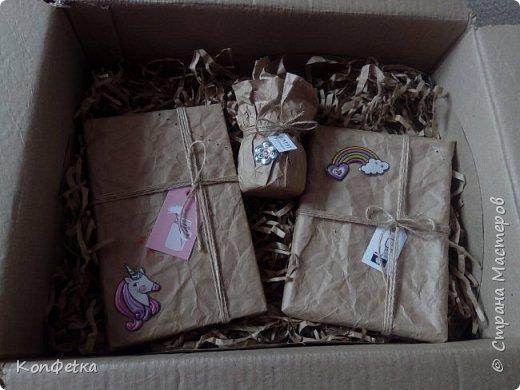 Всем привет. Совсем скоро у моей подруги день рождения и в это раз я решила приготовить ей HappyBirthdayBox. Это небольшая коробка, внутри которой подарки. В моей фантазии было большая коробка и большое количество подарков, но так получилось, что коробочка размером 39*29*11 см, а подарков всего три. фото 3