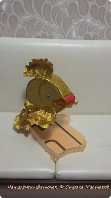 золотая рыбка из конфет фото 5
